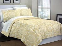 Cynthia Rowley 3pc Full / Queen Duvet Cover Set Paisley ...