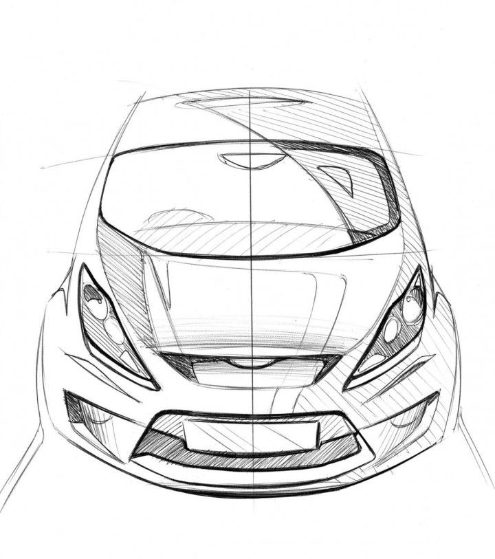 235 best images about Car Sketch Front View on Pinterest