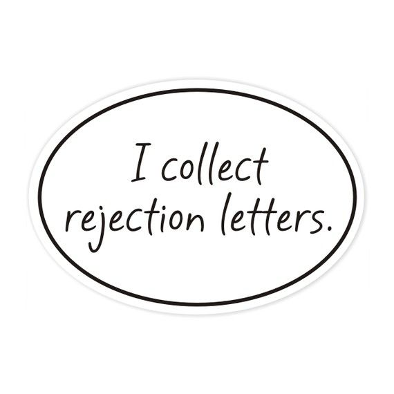 34 best images about Writers and Rejection: Don't Let It
