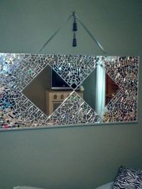 Mirror mosaic, Mosaics and Mirror on Pinterest