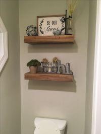 25+ best ideas about Shelves above toilet on Pinterest ...