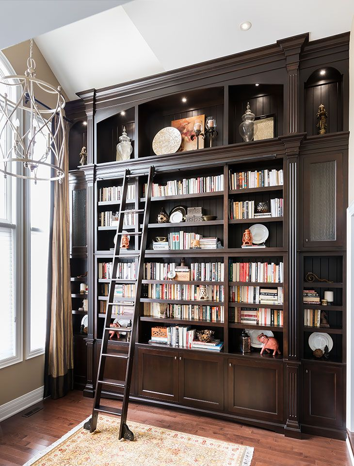 Best 25 Bookcase With Ladder Ideas On Pinterest