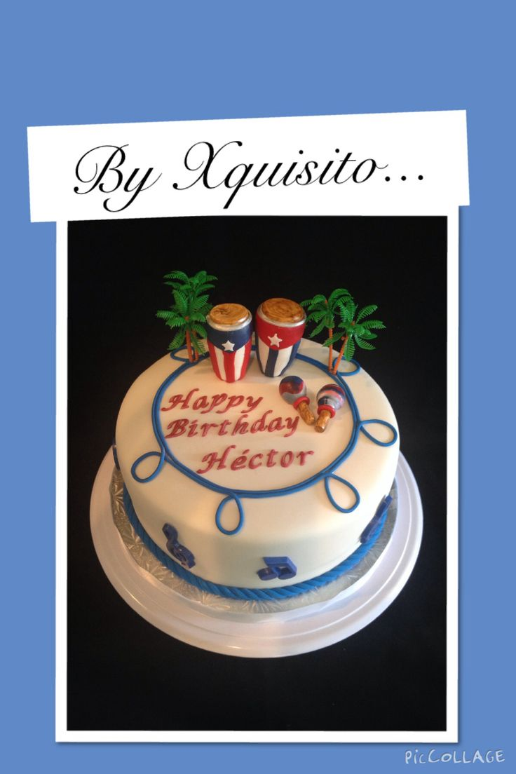 Congas Birthday Cakes And Birthdays On Pinterest