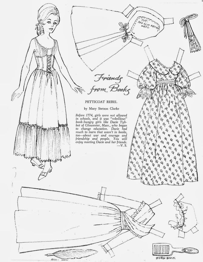 358 best black and white paper dolls images on Pinterest