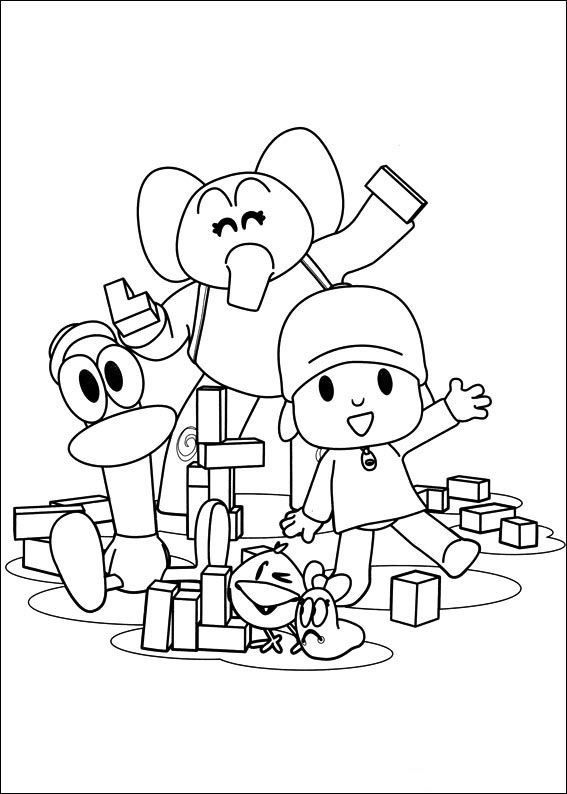 62 best Pocoyo Pictures images on Pinterest