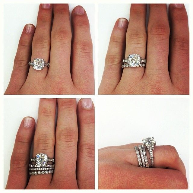 Engagement Ring Wedding Band A Band For Your Husband Amp A