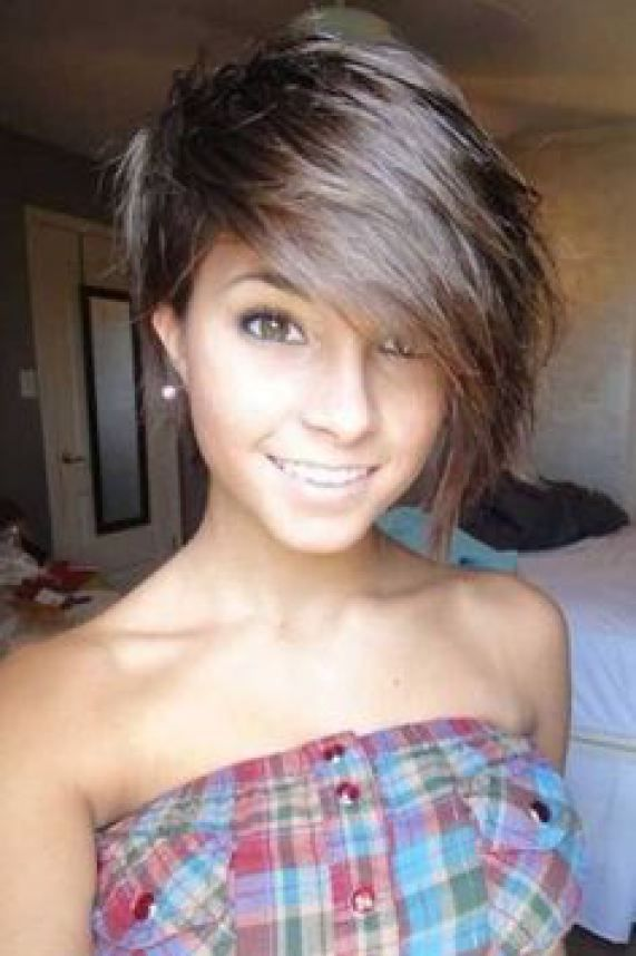 25 Best Ideas About Short Teen Hairstyles On Pinterest Easy