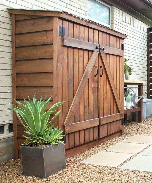 25+ best Outdoor storage ideas on Pinterest
