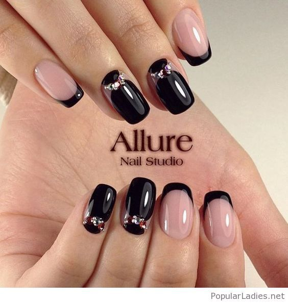 17 Best ideas about Gel Nails French on Pinterest