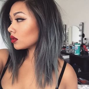 This is my summer look..easy and fun and my natural hair growth will blend. I am surprised at how many of
