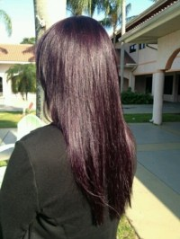Eggplant I Think I Want To Do This Hair Pinterest Of ...