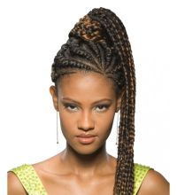 fake Braided Pony Tails for Black Women | FreeTress Equal ...