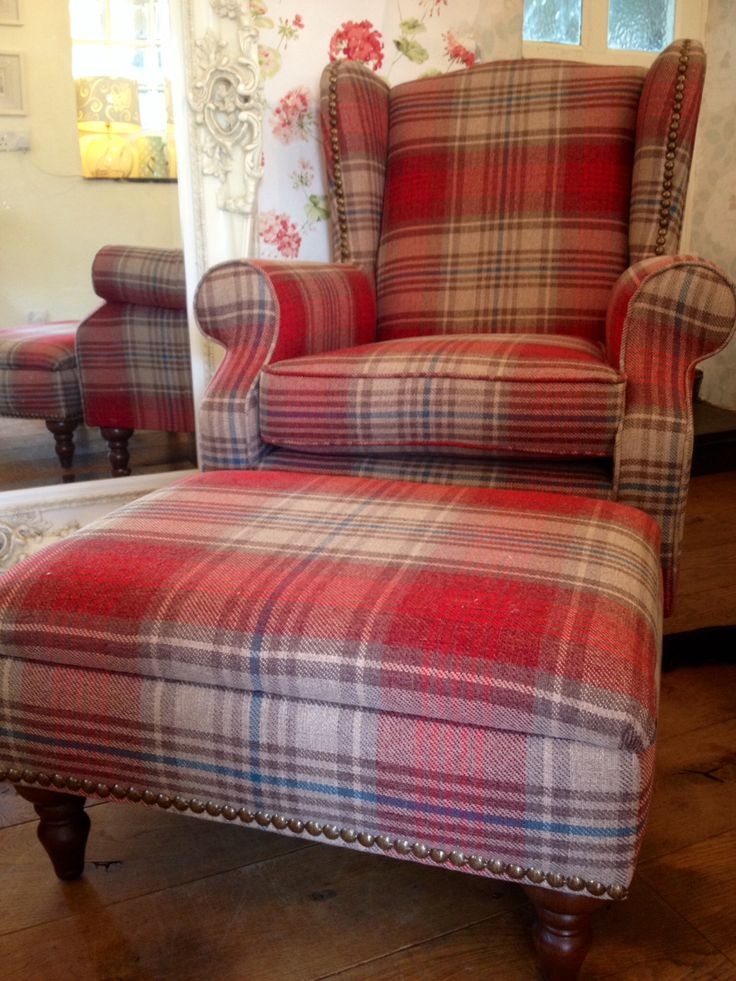 country style wingback chairs lawn at walmart new sherlock next wing back chair and footstool !! laura ashley wall paper sample behind ...