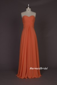 17 Best ideas about Salmon Bridesmaid Dresses on Pinterest