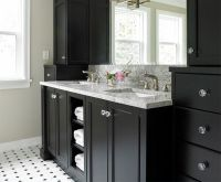 1000+ images about Black Bath Vanities on Pinterest