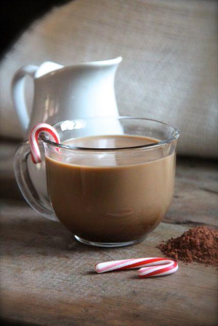 Peppermint Mocha Coffee Creamer Homemade Coconut sugar