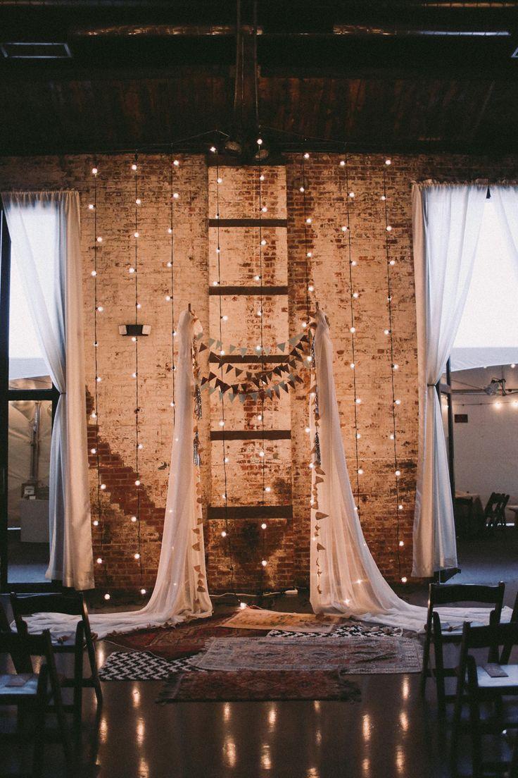 decoration de mariage style industriel