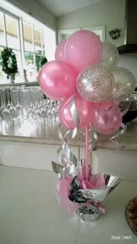 25+ best ideas about Balloon Centerpieces on Pinterest