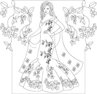 1000+ images about Fashion colouring pages on Pinterest