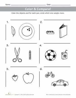 10 best images about Weight worksheets on Pinterest