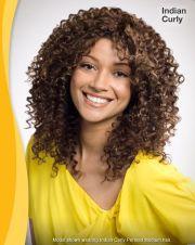 curly perm styles semi-custom