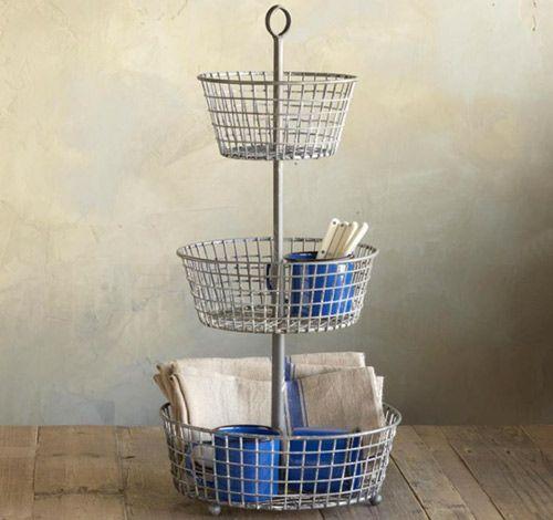 Countertop Storage Farmers Market Epergne Basket Mars