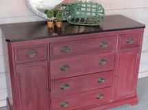 710 best images about Red Painted Furniture on Pinterest ...