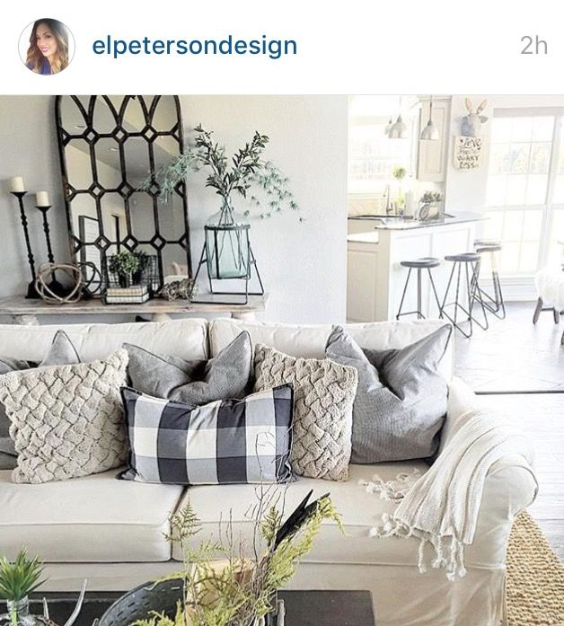 tan couch living room decor shabby chic furniture uk sherwin williams - eider white | paint colors/wall ideas ...