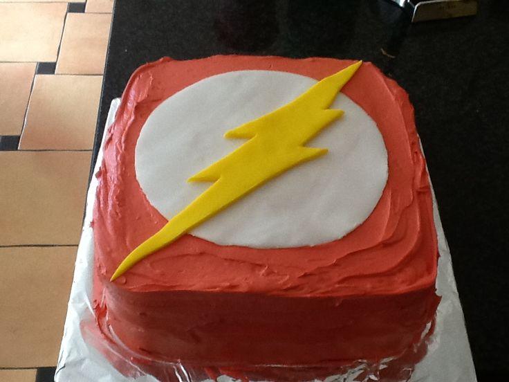 The Flash Cake Walt S 16th Bday Party Ideas Pinterest