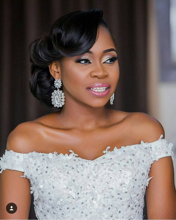 10 ideas about Black Wedding Hairstyles on Pinterest  Updos for black hair Natural updo