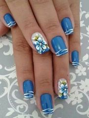 beach nail design ideas