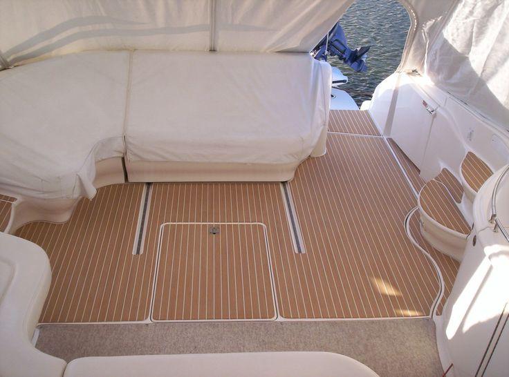 cost of build faux teak boat decking composite teak