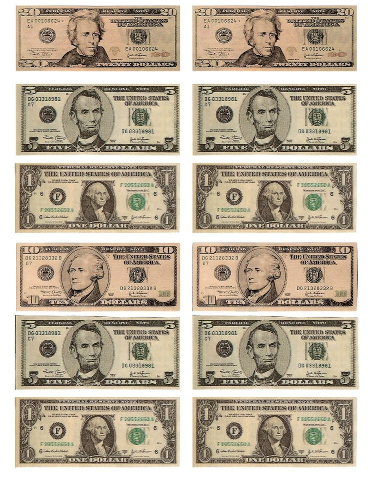 legal free printable money when teaching about money or