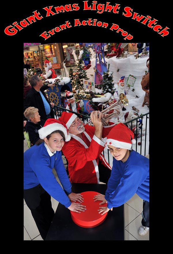 Giant Christmas Light Switch  Event Props  Pinterest