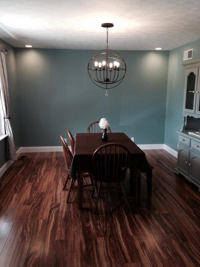 hanging baskets for kitchen average cost to reface cabinets our dining room has sherwin williams calico paint on the ...
