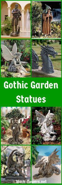 17 Best ideas about Gothic Garden on Pinterest | Dark ...