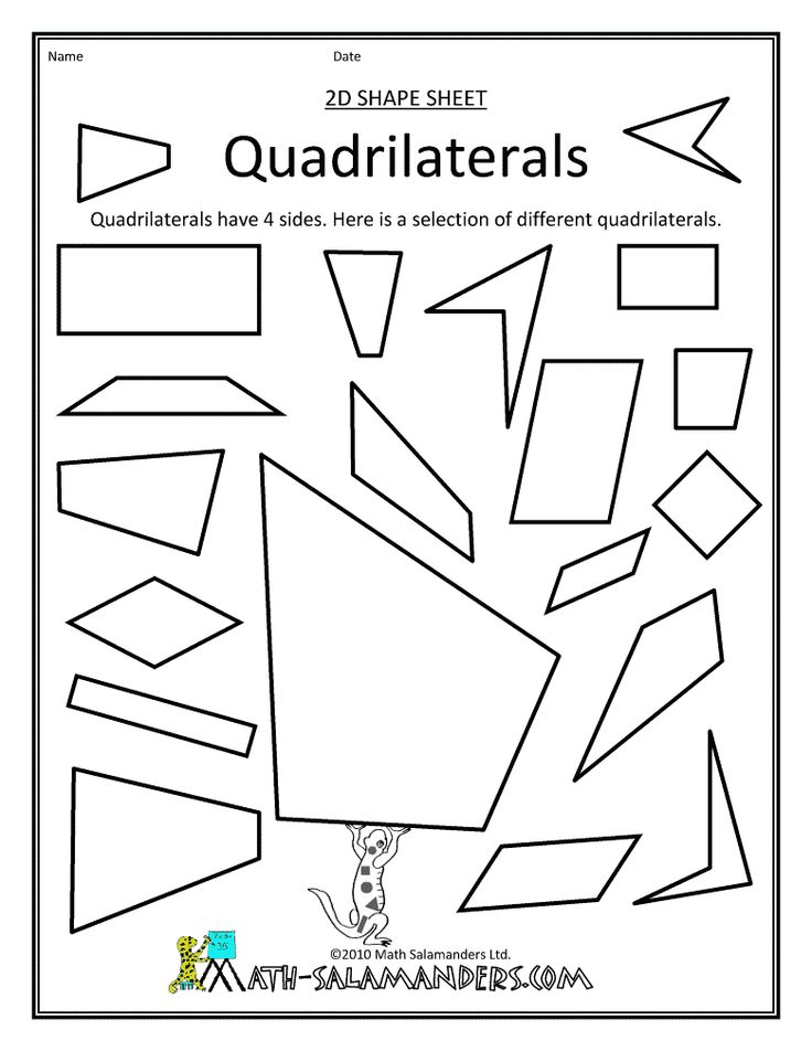 50 best images about Math: Geometry (Quadrilaterals) on