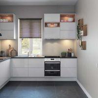City White fitted kitchen by Magnet #whitekitchen | cgi ...