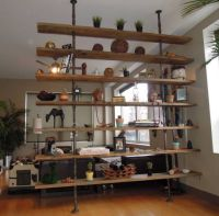501 best images about Industrial Pipe Shelves on Pinterest ...
