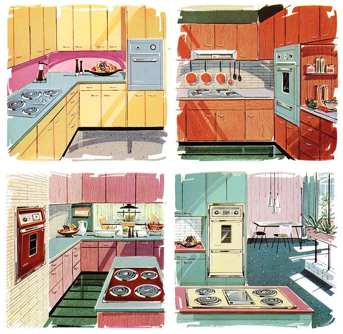 17 Best Images About Vintage Kitchen On Pinterest