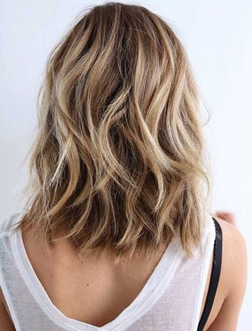 25 Best Ideas About Shoulder Length Hairstyles On Pinterest