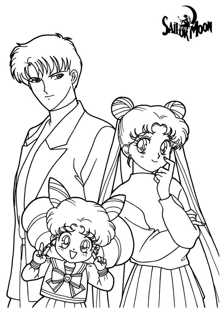 Sailor Moon Coloring Pages Printable Szukaj W Google