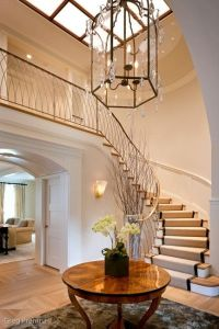 25+ best ideas about Curved staircase on Pinterest