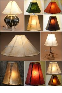 Rawhide Lamp Shades: a collection of Home decor ideas to ...