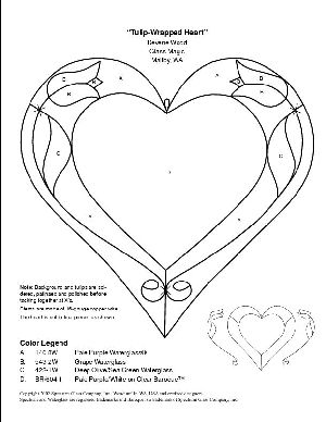 226 best images about Stain Glass Hearts on Pinterest