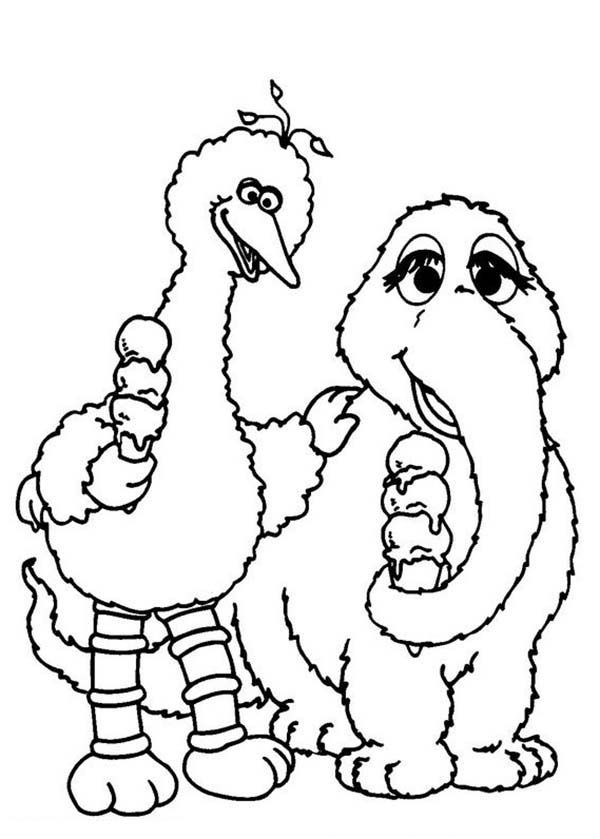 Sesame Street 68 Coloring Page