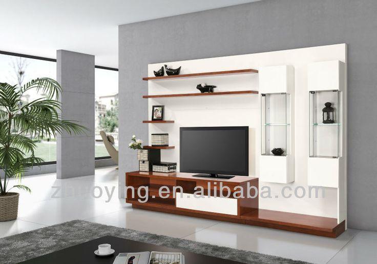 Modern Furniture Led Tv Wall Unit Fa13
