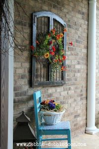 25+ best ideas about Patio Wall Decor on Pinterest