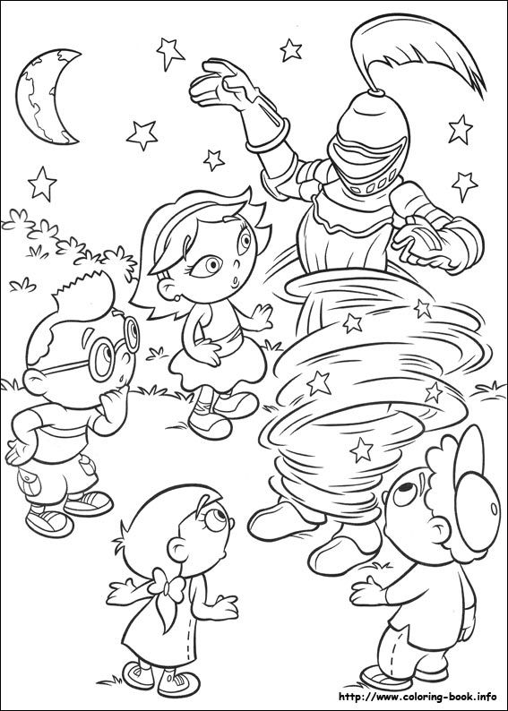 Little Einsteins Coloring Picture Disney Coloring Pages