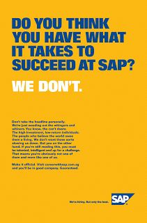 SAP Specialist Recruitment Campaign Strenght In